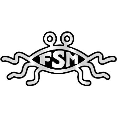 Flying Spaghetti Monster Emblem Charlotte Atheists Agnostics